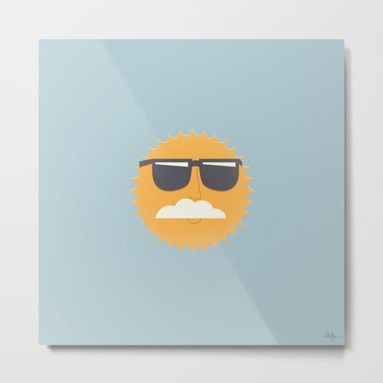Sun Disguised Metal Print