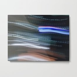 Blurred Lines Metal Print