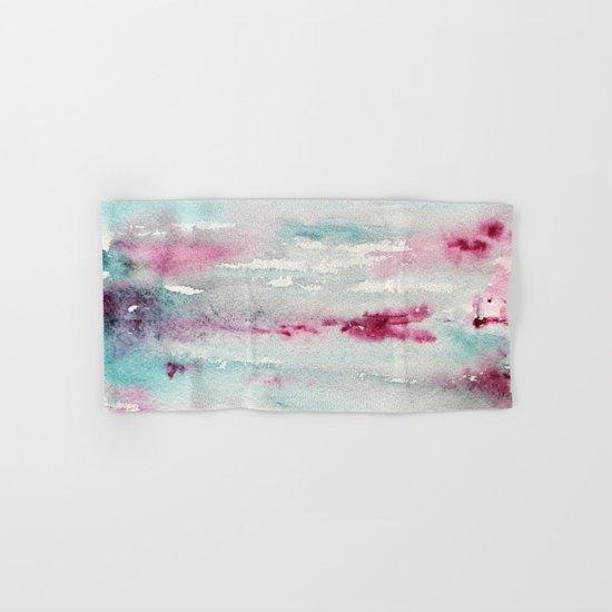 Sweet memories || watercolor Hand & Bath Towel