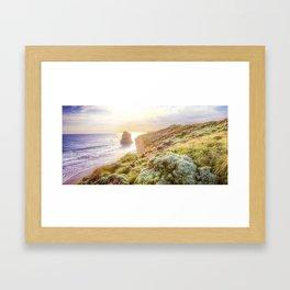 Gold Paradise Framed Art Print