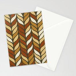 Boho Chic Retro Weave Stationery Cards