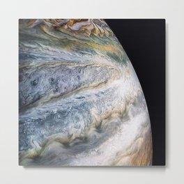 Jupiter Surface Long Range Fly-By Telescopic Photograph Metal Print
