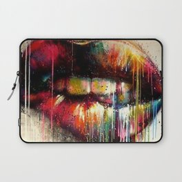 Lip Biter Laptop Sleeve