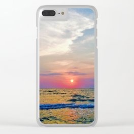 Naples Florida sunset on the Gulf of Mexico Clear iPhone Case