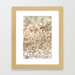 Gold Lady Glitter #2 #shiny #decor #art #society6 Framed Art Print