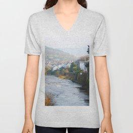 River Dee Unisex V-Neck