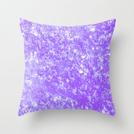 Purple Pastel Texture Throw Pillow