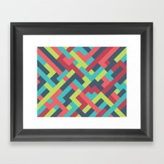 Intertwined 001 Framed Art Print