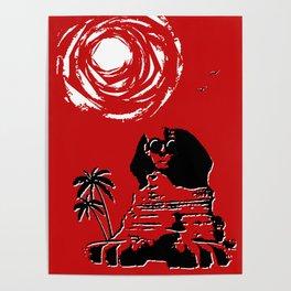 Sunshine Sentinel (Red) Poster
