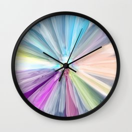 A Flower in the Heaven Wall Clock