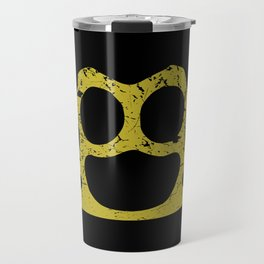 Brass Knuckles Travel Mug