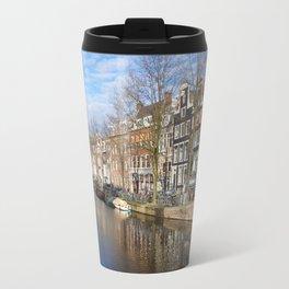Amsterdam canal 3 Travel Mug