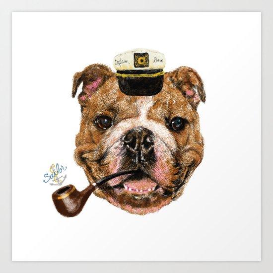 Mr.Bull Art Print
