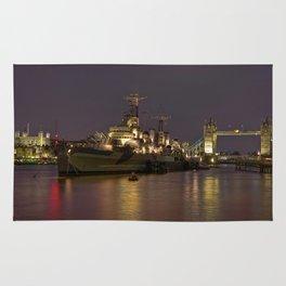 HMS Belfast Rug