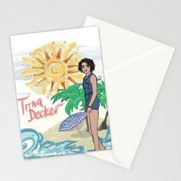 Lana Parrilla as Trina Decker (Swingtown) Stationery Cards
