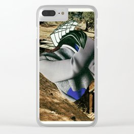 Twist your arm Clear iPhone Case