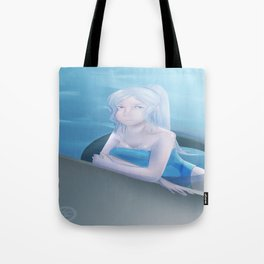 By the Deep End Tote Bag