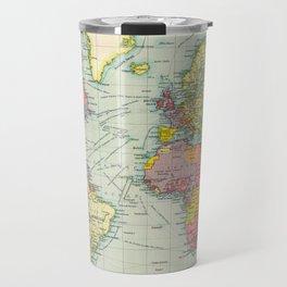 Vintage Political Map of The World (1922) Travel Mug