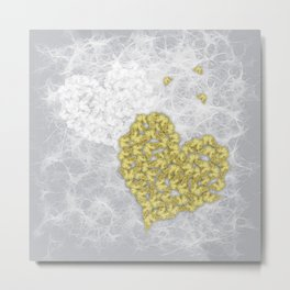 Hearts and ghosts of romance Metal Print