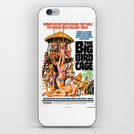 The Big Bird Cage iPhone Skin
