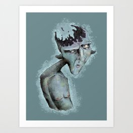 Absent Minded Art Print