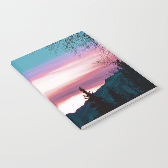 Alaskan Pastel Vibes Notebook