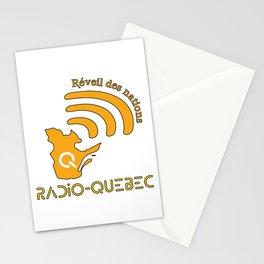 Radio-Quebec - Réveil des nations Stationery Cards