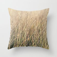 Field in the Sun Throw Pillow