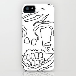 Scary Zombie Face iPhone Case