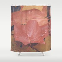 canada Shower Curtains featuring OH CANADA! by Anna Eve