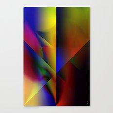 Spectrum Shield Canvas Print