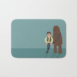 Han & Chewie, The Rogues Bath Mat