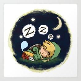Minish-Nap Art Print