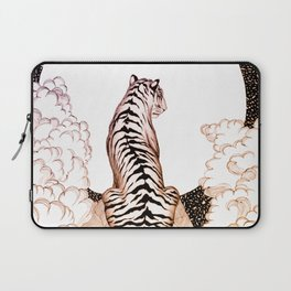 Tiger Moon Glow Laptop Sleeve