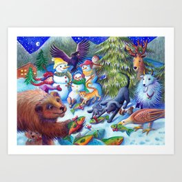 The Gift of Sharing Art Print