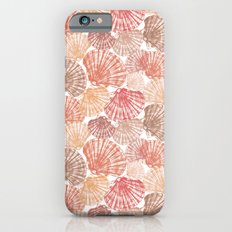 Mid Shells: Pink corals iPhone 6s Slim Case