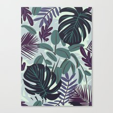 DARK JUNGLELOW Canvas Print