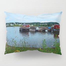 Fisherman's Wharf in Cape Breton Pillow Sham