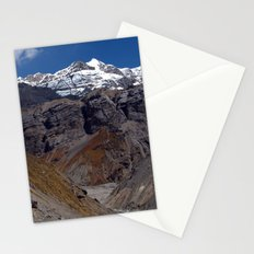 Scenery near Thorung Phedi Stationery Cards
