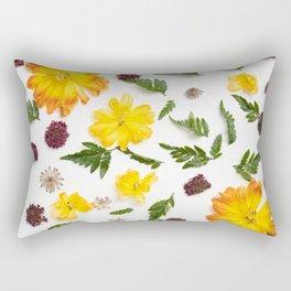 Happy flower Pattern Rectangular Pillow