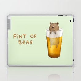 Pint of Bear Laptop & iPad Skin