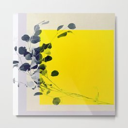 grayellow_mood Metal Print