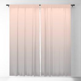 Gradient blush pink- grey Blackout Curtain