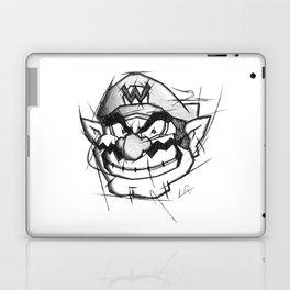 Wario Handmade Drawing, Games Art, Super Mario, Nintendo Art Laptop & iPad Skin
