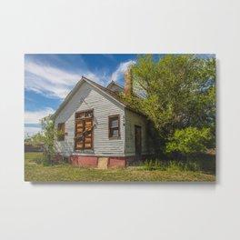 Abandoned Church, Zap, North Dakota 5 Metal Print