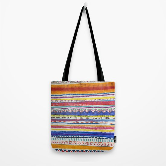 TRIBAL CRAYON / Tote Bag