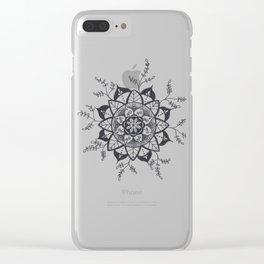 Mandala in Nature Clear iPhone Case