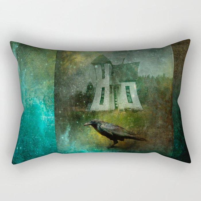 Crow House Rectangular Pillow