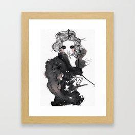 My Muse Framed Art Print