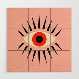 Red Eye Wood Wall Art